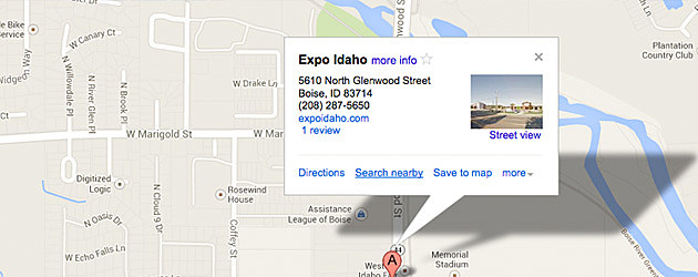 Idaho's Largest Garage Sale - directions